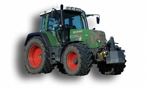 Fendt-415 tractor