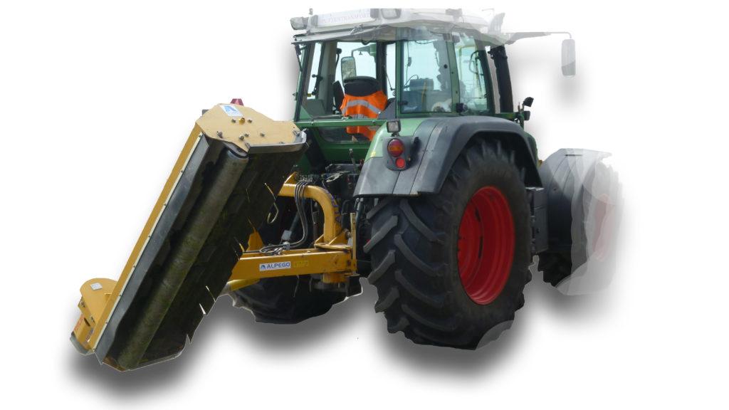 Klepelmaaier tractor