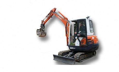 Mini graver 3,5 ton